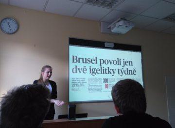 Přednáška o mediální komunikaci